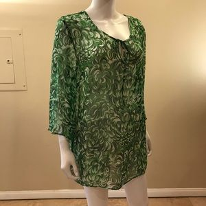 INC International Concepts Silk Sheer Cover Up
